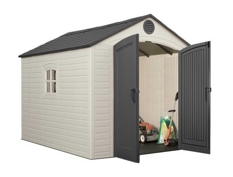 The Pros and Cons of a Plastic Shed - Zacs Garden