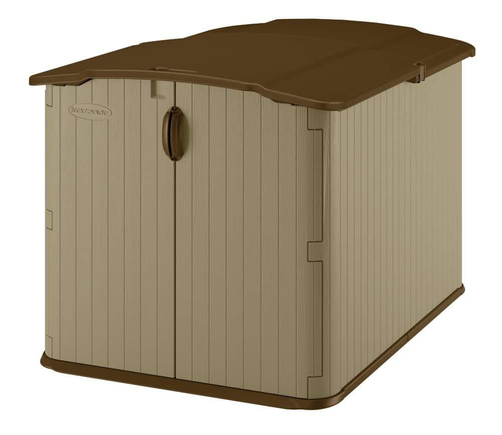 Lifetime 7x4.5 storage shed