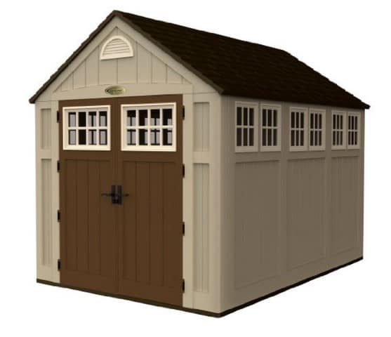 Plastic/Resin Shed