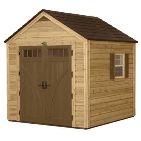 Suncast hybrid shed