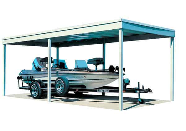 Arrow Free Standing Car Port