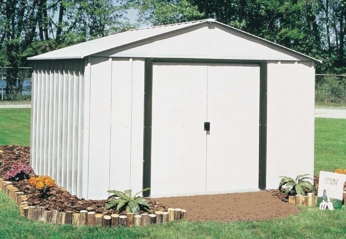 Arlington 10-Feet by 12-Feet Steel Storage Shed