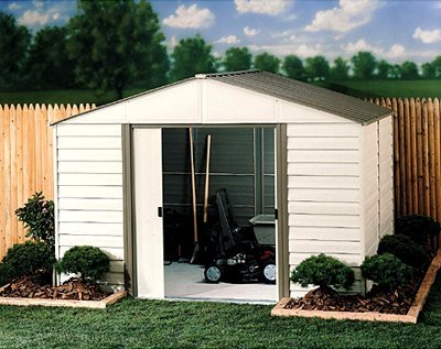 Arrow Steel and Vinyl Shed