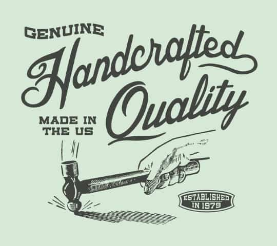 Genuine Handcrafted Quality