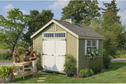 Williamsburg Colonial Garden Storage Shed