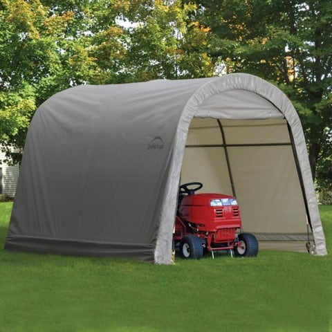 ShelterLogic Round Style Storage Shed Review