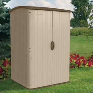 Suncast 98-Cubic Foot Horizontal Blowmolded Shed background