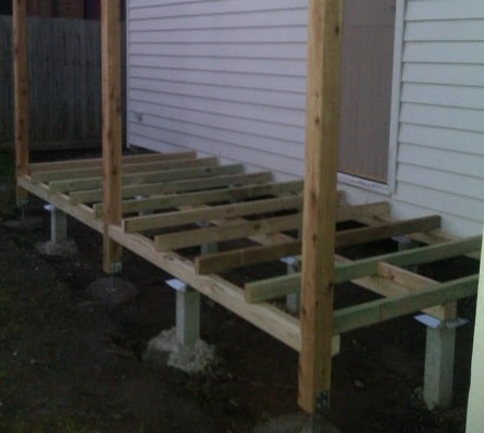 How To Build A Pier Shed Foundation Zacs Garden