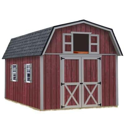 Woodville Wood storage shed