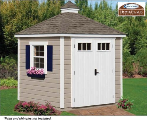 Colonial Storage Shed