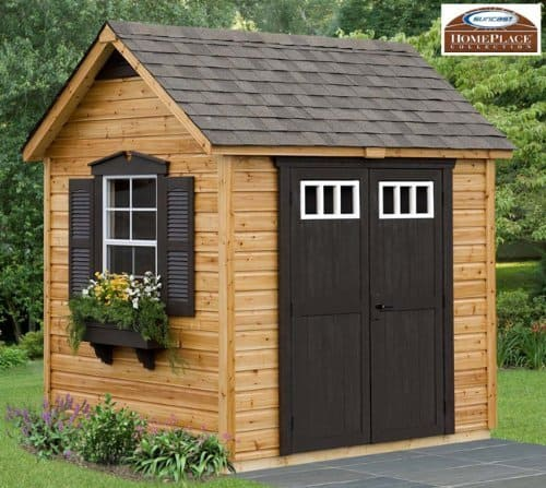 Legacy 8x6 Wood Garden Shed
