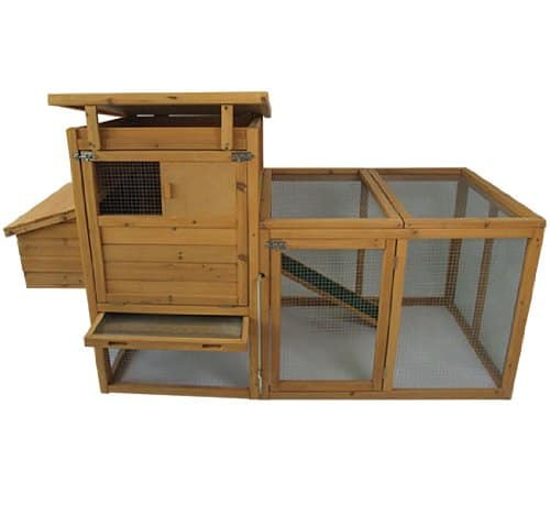 Pawhut Delux wooden chicken coop