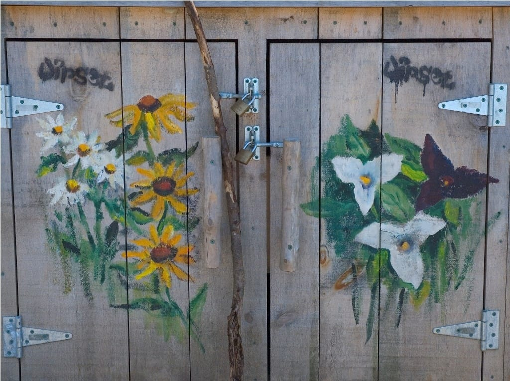 artwork_designed_wooden_shed_door