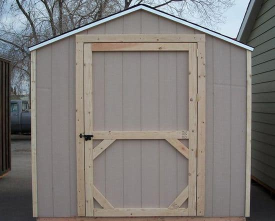 Shed Door from probarnplans