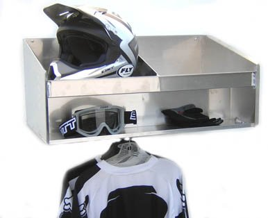 PitPosse Helmet Shelf