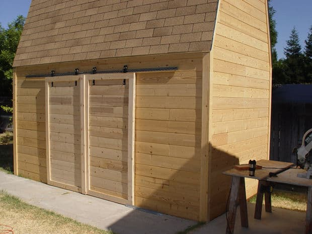 shed barn doors instructables