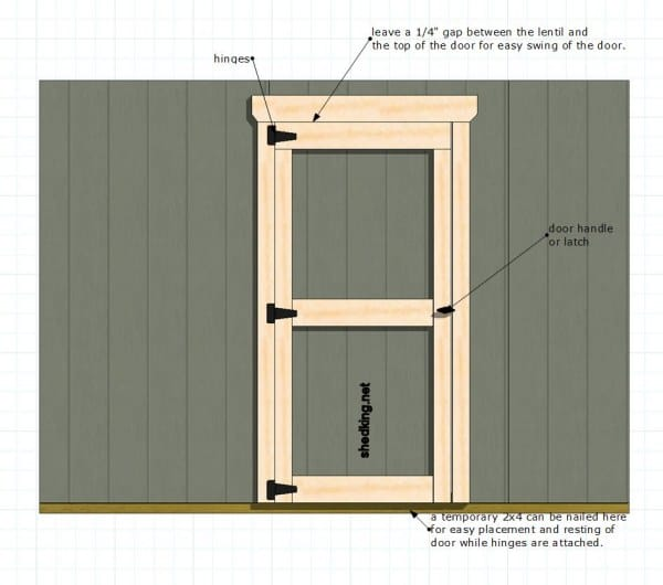 shed-door-single-door shedking