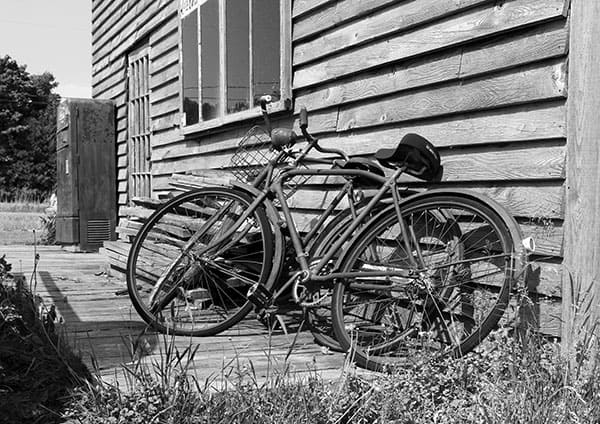Bikes on a Porch