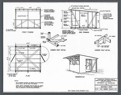 Ryans Shed Plan Review Detailed Shed Plan