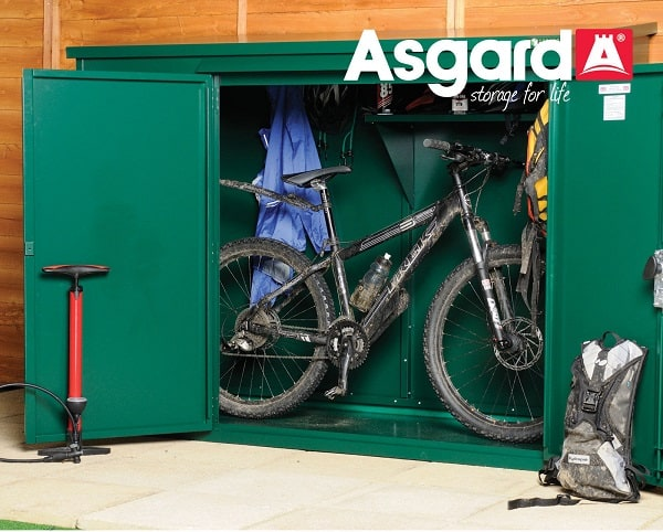 asgard secure bike shed