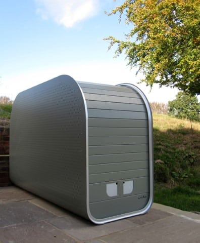 iniko secure bike shed storage