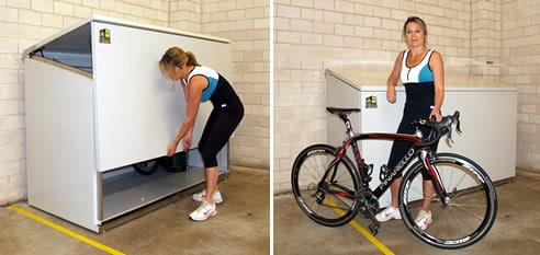 spec net secure bike storage shed