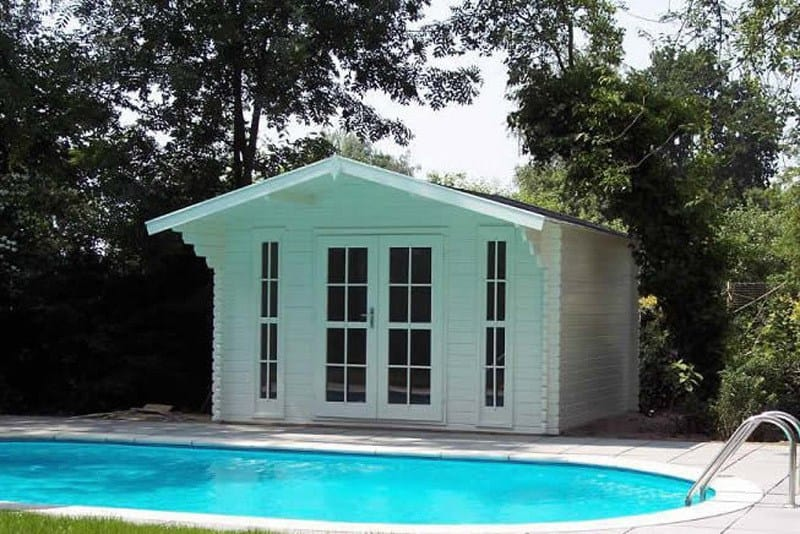 Solid Build Pool House