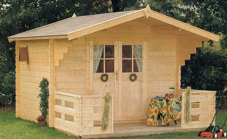 douglas solid build shed