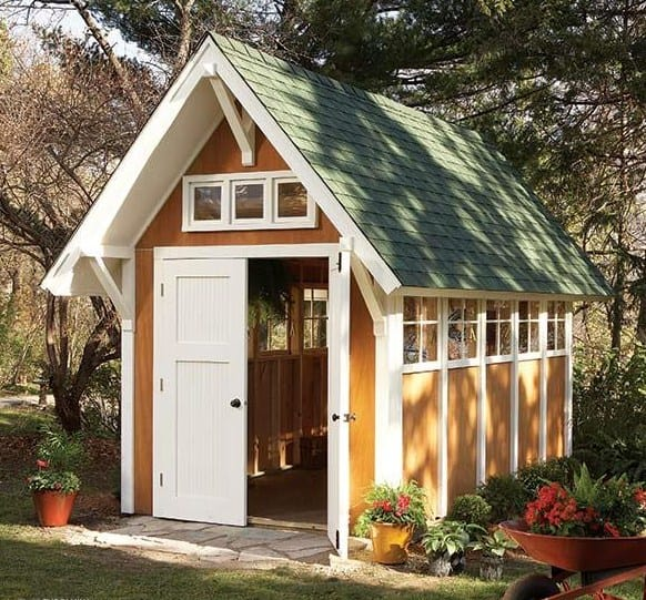 how to build a shed - a dream shed