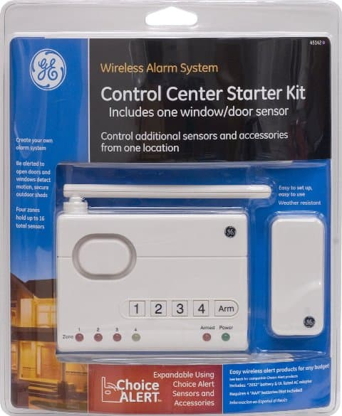 GE Wireless Alarm System