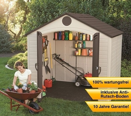 the 10 cheapest plastic garden sheds online