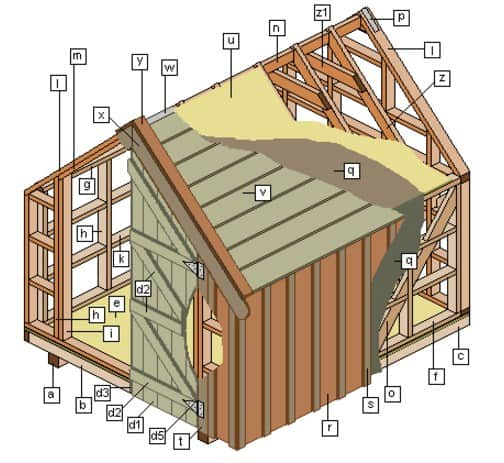 free_shed_plans