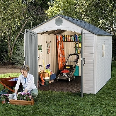 Lifetime 6402 shed