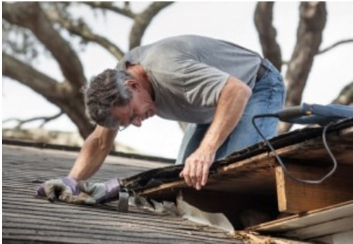 shed roof repairs