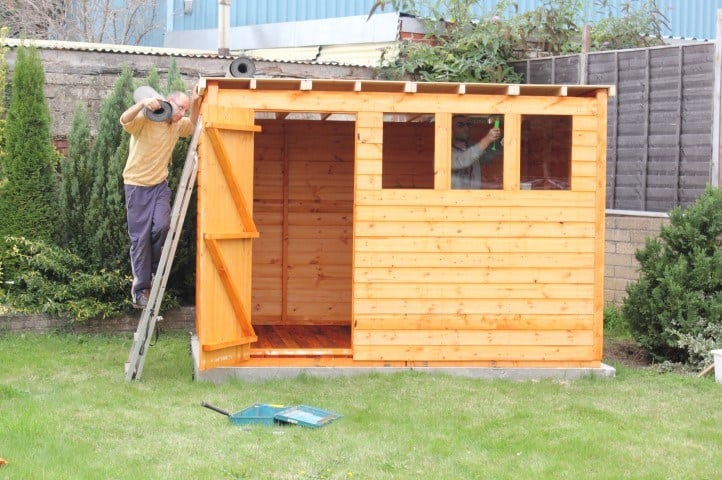 Shed Roof Ideas - Flat Roof