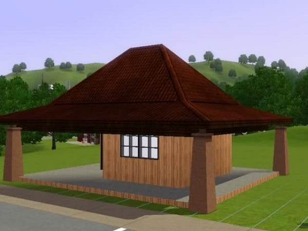 Boonet style roof