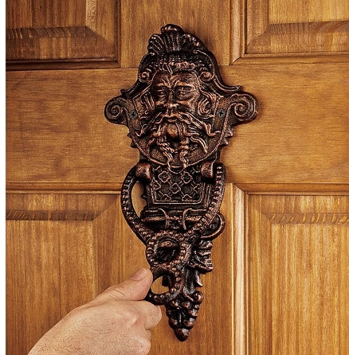 curb appeal ideas - Door knocker