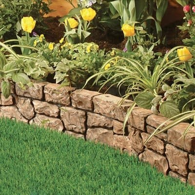 curb appeal ideas - border edges