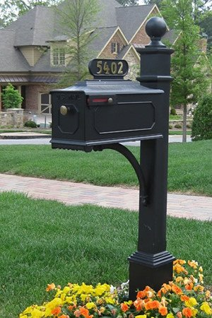 Curb appeal ideas - New Mailbox