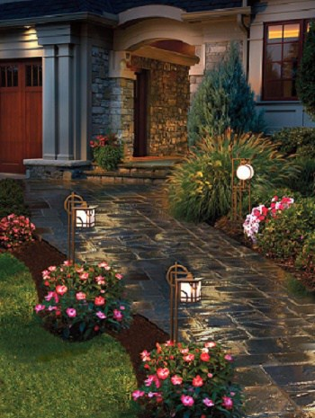 curb appeal ideas - garden path