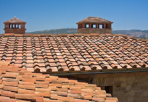 Reclaimed clay tile roof - performanceroofingcompany