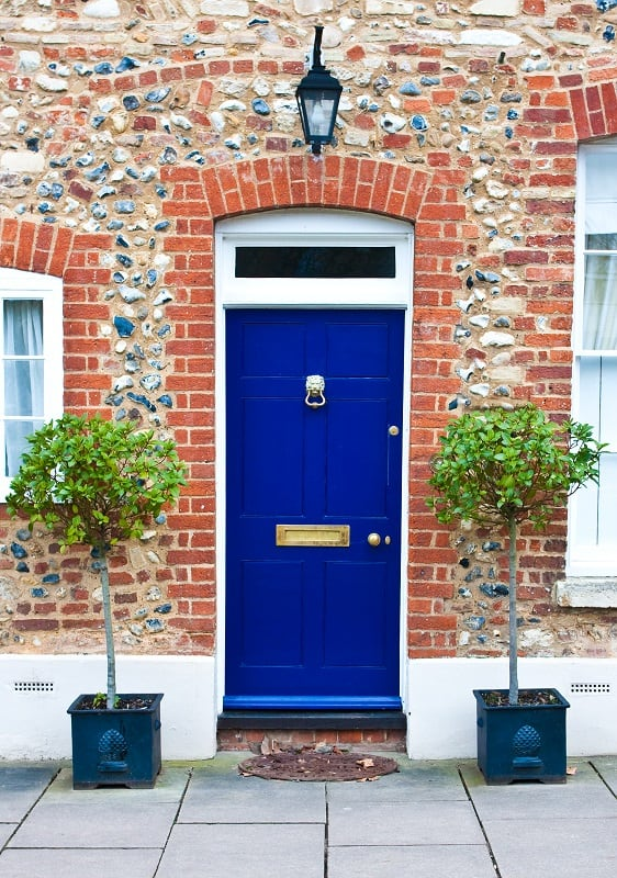 Curb appeal ideas - front door upgrade