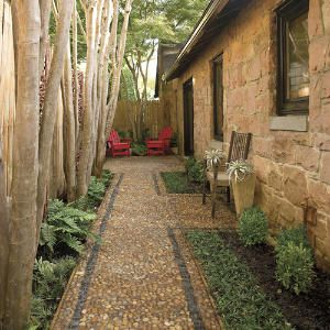 23 Landscaping Ideas for Side of House - Zacs Garden on Patio Designs For Straight Houses id=85210
