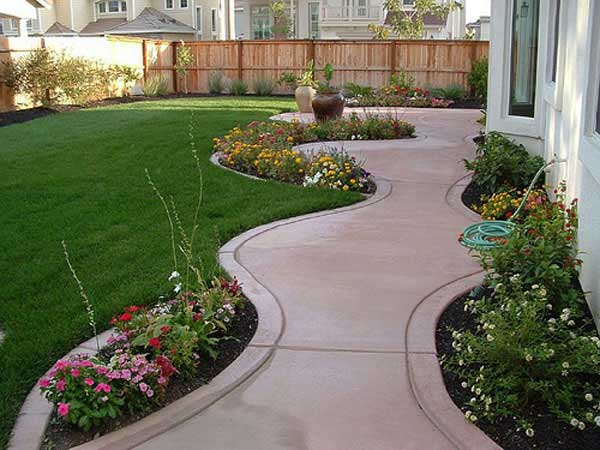 23 Landscaping Ideas for Side of House - Zacs Garden on diamond interior design, diamond landscape quilt, diamond art design, diamond flower design,