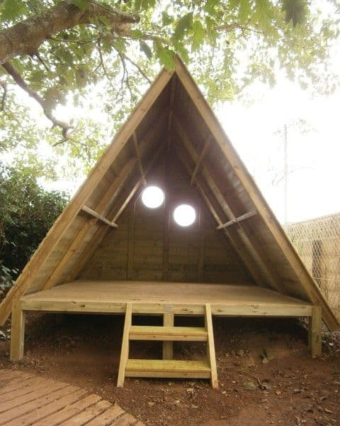 Simple A-Frame Shed