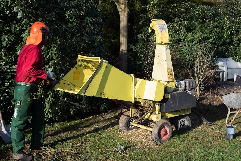 Commercial sized wood mulchers/shredders get used often, which is one reason why they are expensive
