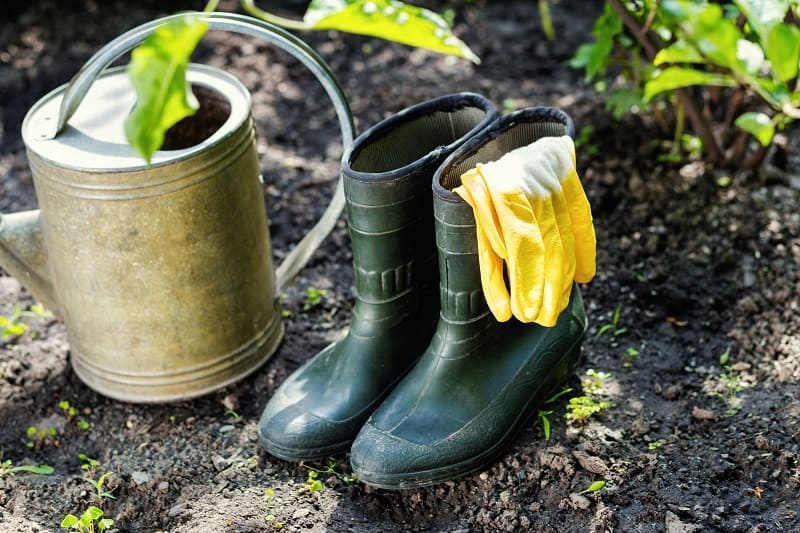 Best Garden Shoes - Rubber Boots