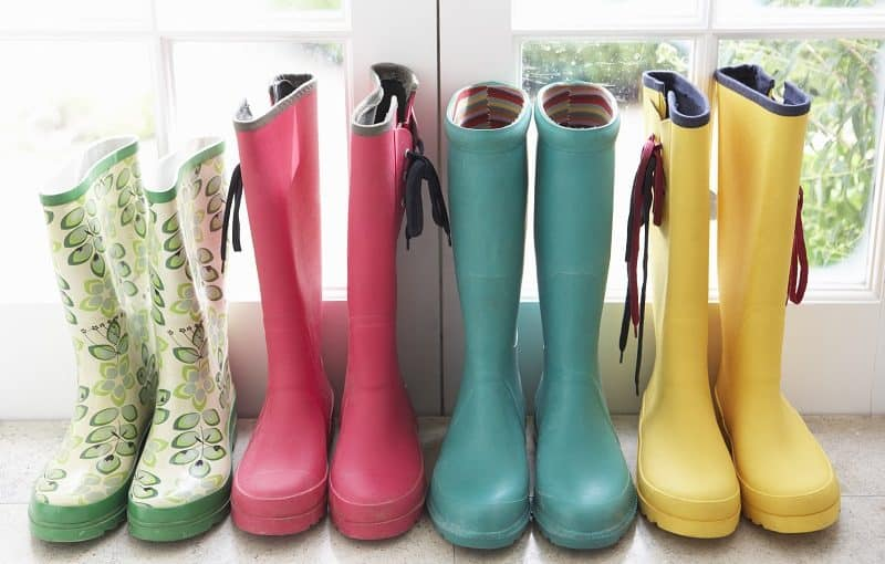 Best Garden Shoes - Selection of Colors in Rubber Boots