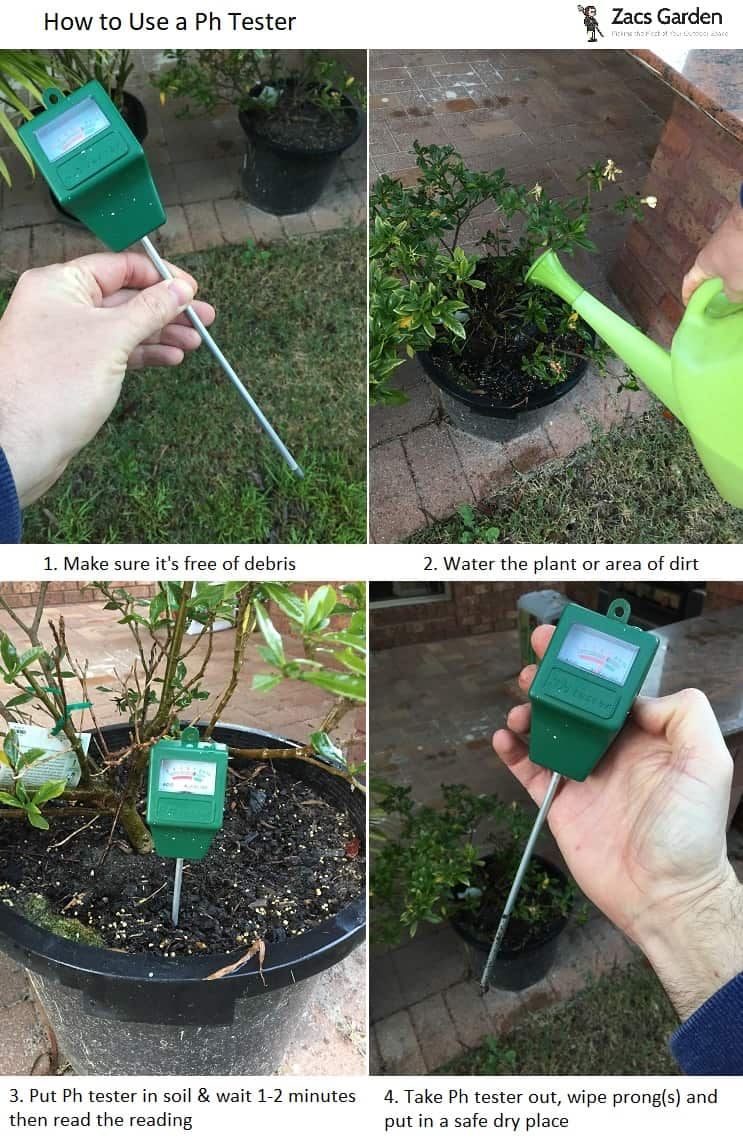 How to use a ph tester in garden