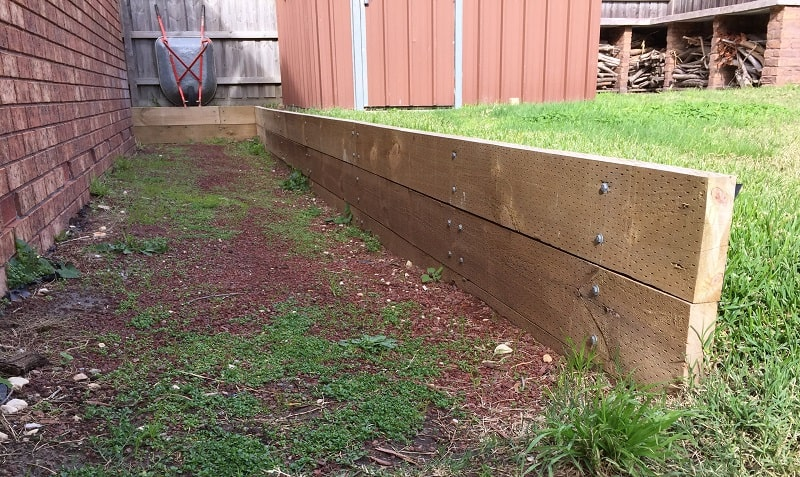 Landscaping Edging - Treated Pine Sleepers